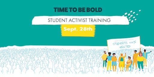 Student Activist Training