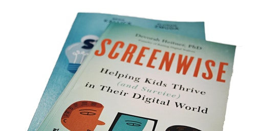 Book Club with Dr. McDuffie - Screenwise: Helping Kids Thrive (and Survive) in Their Digital World by Deborah Heitner