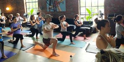 Superfree Foods Yoga Pop-Up