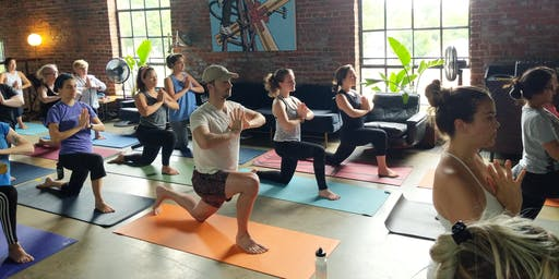 Superfree Foods Yoga Pop-Up