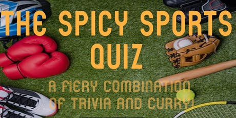 The Spicy Sports Quiz tickets