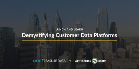 Lunch and Learn: Demystifying Customer Data Platforms tickets
