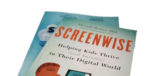Book Club with Dr. McDuffie - Screenwise: Helping Kids Thrive in Their Digital World by Deborah Heitner