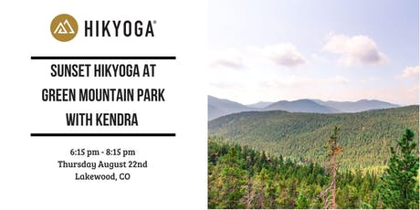 Sunset Hikyoga at Green Mountain Park with Kendra tickets