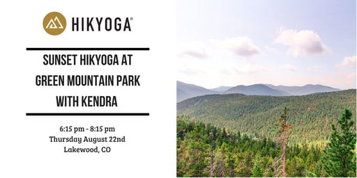 Sunset Hikyoga at Green Mountain Park with Kendra