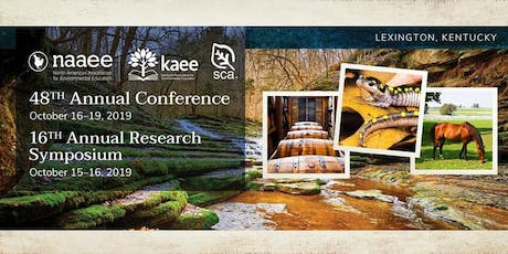 Student Conservation Association Alumni Networking Event @ NAAEE Conference tickets