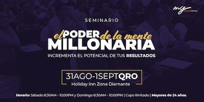El Poder de la Mente Millonaria - Querétaro 31Ago-1Sept 2019