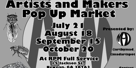 Artists and Makers Pop Up Market  tickets