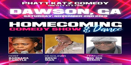 DAWSON, GA- Phatt Katz Comedy: One City at a Time tickets