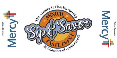21st Annual Sip & Savor St. Charles County Taste Event 2019 tickets