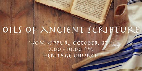 Oils of Ancient Scripture tickets