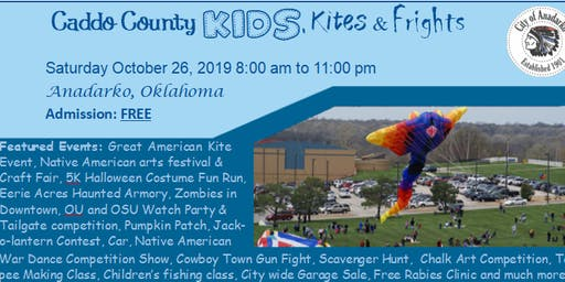 Caddo County Kids, Kites & Frights