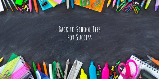 Parent Seminar: Back to School Tips for Success