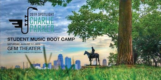 Spotlight 2019: Charlie Parker Student Music Bootcamp