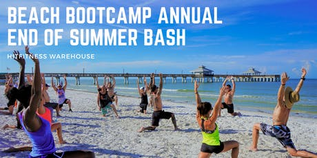 Beach Bootcamp Annual End of Summer Bash  tickets