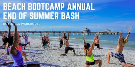 Beach Bootcamp Annual End of Summer Bash  tickets