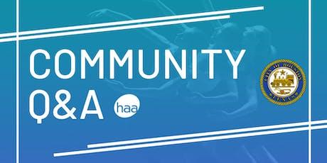 Community Q&A tickets