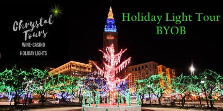 Chrystal Holiday Lights (BYOB) Limo Coach Tour-Cleveland (Eastside) tickets
