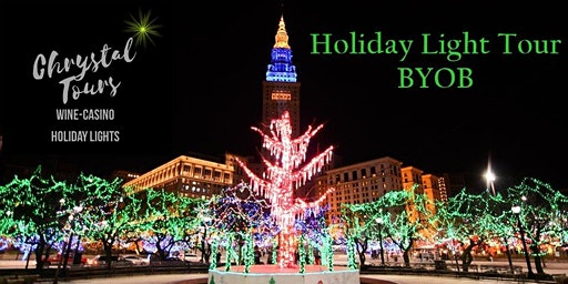 Chrystal Holiday Lights (BYOB) Limo Coach Tour-Cleveland (Eastside)