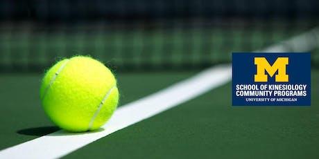 Beginning Tennis, T/Th - Fall 2019 tickets