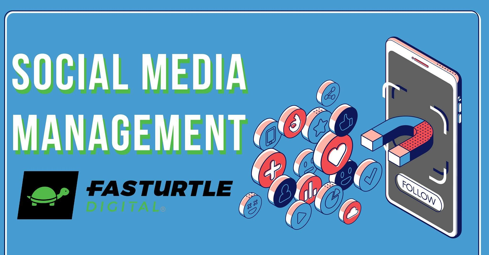 Education Class: Fasturtle Digital - Social Media Management