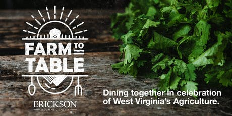 West Virginia Farm to Table tickets