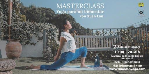 Masterclass Yoga para mi Bienestar con Xuan Lan