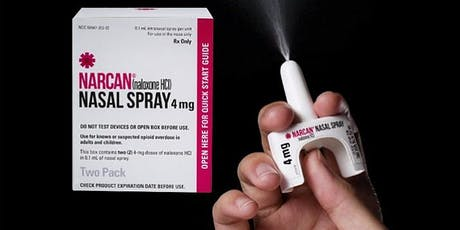 Opioid Overdose Prevention & Naloxone (Narcan) Rescue Training tickets
