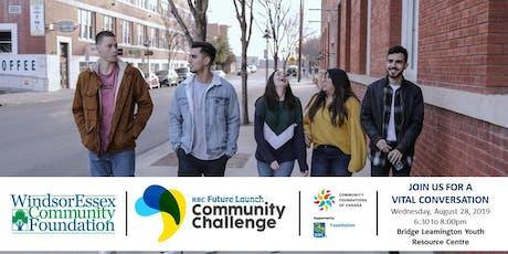 Leamington Vital Conversation RBC Future Launch Community Challenge  tickets