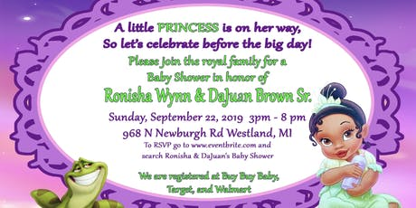 Ronisha & DaJuan's Baby Shower  tickets