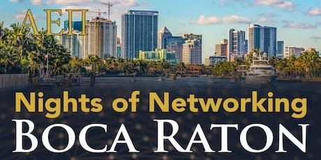 AEPi Boca Raton Night of Networking tickets