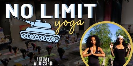 No Limit Yoga tickets