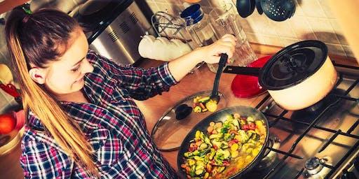 Cocina-Gestión de Tiempo y Salud