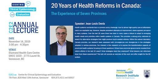 C2E2 2019 Annual Lecture