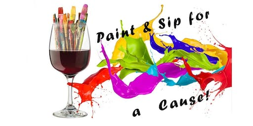 Paint & Sip for a Cause