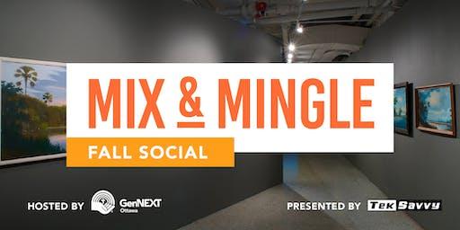 Mix & Mingle: Fall Social
