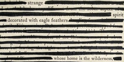 Beginning Blackout Poetry