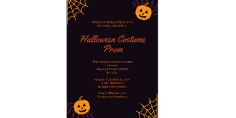 Halloween Costume Prom Fundraiser tickets