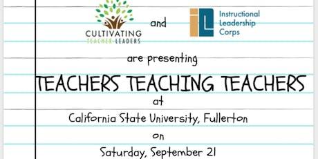 Teachers Teaching Teachers tickets