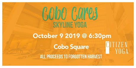 Cobo Cares - Yoga with Citizens Yoga tickets