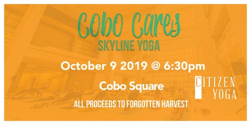 Cobo Cares - Yoga with Citizens Yoga