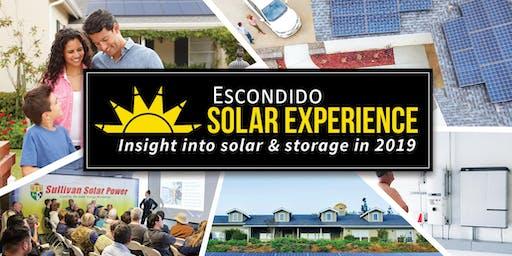 Escondido Solar Experience