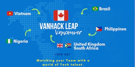 VanHack's Leap Vancouver - Opening Night  tickets