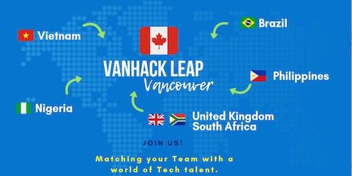 VanHack's Leap Vancouver - Opening Night