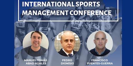 International Sports Management Conference bilhetes
