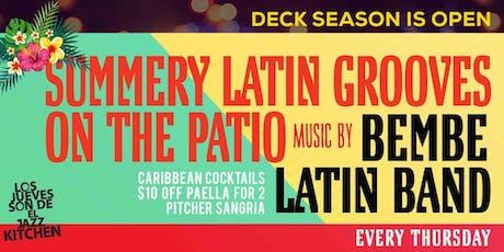 Grupo Bembe Latin Band tickets