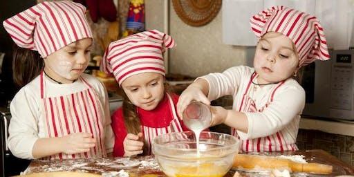 Kid's Cooking Class: Calzones & Cinnamon Sticks