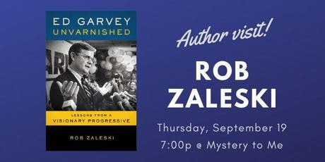 Author Visit: Rob Zaleski tickets