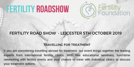 Fertility Road Show: Travelling Abroad For Treatment tickets