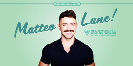 Matteo Lane tickets